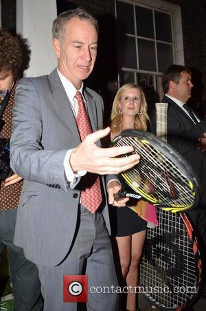 John McEnroe The Slazenger Party held at The House of St Barnabas - Departures London, England - 23.06.11
