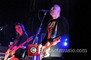 Billy Corgan of the Smashing Pumpkins performing at The Brixton Academy. London, England -15.11.11