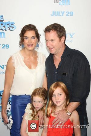Brooke Shields and family 'The Smurfs' world premiere at the Ziegfeld Theater - Arrivals New York City, USA - 24.07.11