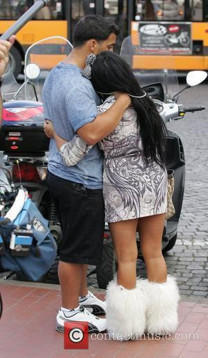 Jionni LaValle Nicole Polizzi aka Snooki Nicole Polizzi aka Snooki filming with her boyfriend for MTV's 'Jersey Shore'. Snooki is...