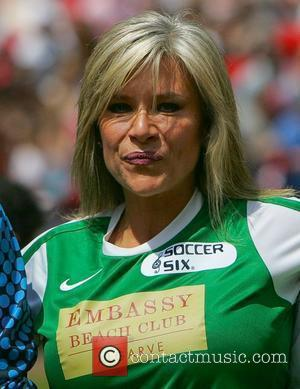 Samantha Fox  The Celebrity Soccer Six tournament held at The Valley, home to Charlton Athletic FC London, England -...