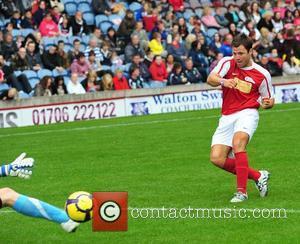 Mark Wright The Celebrity Soccer Six tournament held at Turf Moor stadium Burnley, England - 05.06.11