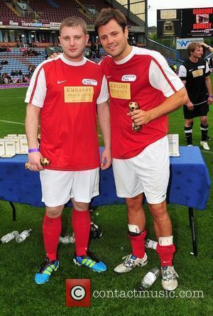 Mark Wright and Plan B The Celebrity Soccer Six tournament held at Turf Moor stadium Burnley, England - 05.06.11