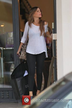 Sofia Vergara dressed casually as she leaves Barneys New York in Beverly Hills after shopping Los Angeles, California - 30.09.11