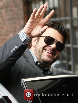 Adam Richman Celebrities outside the Soho hotel London, England - 07.07.11