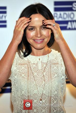 Andrea Corr Sony Radio Academy Awards held at the Grosvenor House - Arrivals. London, England - 09.05.11