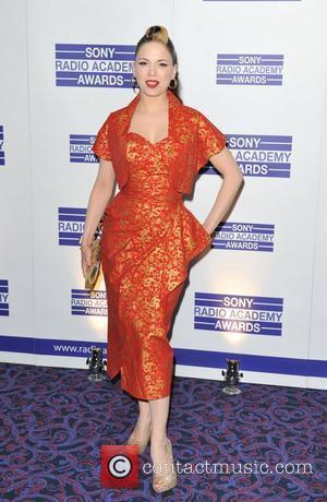 Imelda May Sony Radio Academy Awards held at the Grosvenor House - Arrivals. London, England - 09.05.11