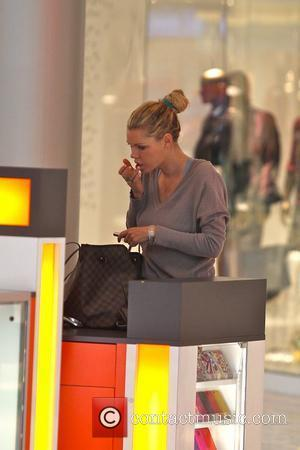 Sophie Monk shops with a friend at the Beverly Centre Los Angeles, California - 15.11.11