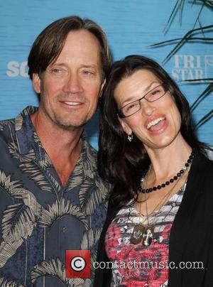 Kevin Sorbo and his wife Sam Jenkins Soul Surfer Los Angeles Premiere Held At the ArcLight Cinerama Dome Hollywood, California...