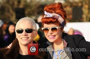 Annie Lennox and Paloma Faith