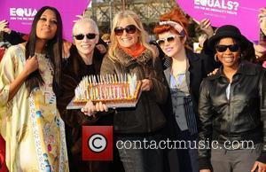 V V Brown, Annie Lennox, Gaby Roslin and Paloma Faith