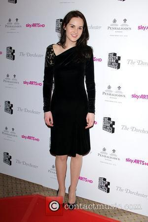 Michelle Dockery 'South Bank Sky Arts Awards' held at the Dorchester Hotel - Arrivals  London, England - 25.01.11