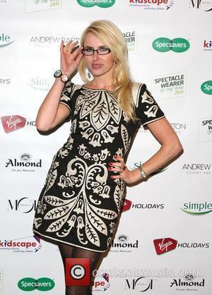 Nancy Sorrell Specsavers Spectacle Wearer of the Year Awards 2011 at Battersea Power Station - Arrivals London, England - 15.11.11