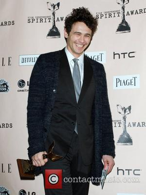 James Franco The 2011 Film Independent Spirit awards held at Santa Monica Beach - Press Room Los Angeles, California -...