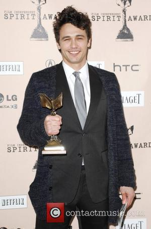 James Franco The 2011 Film Independent Spirit awards held at Santa Monica Beach - Press Room Los Angeles, California -...