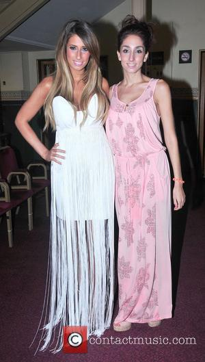 Stacey Solomon and her sister Gemma Solomon,  at the Spirit Of London Awards at the Royal Albert Hall. London,...