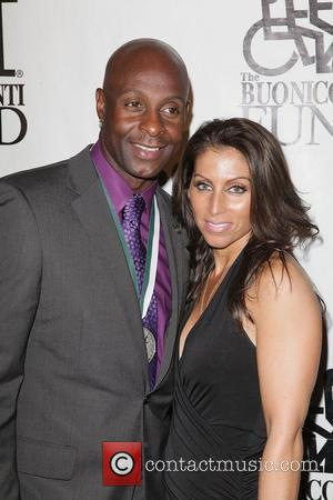 Jerry Rice,  at the 28th Annual Great Sports Legends dinner held at the Waldorf-Astoria. New York City, USA -...