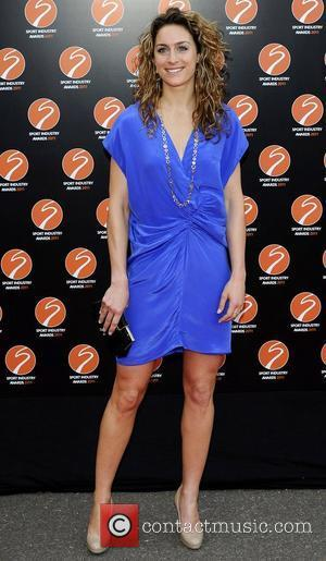 Amy Williams Sport Industry Awards at Battersea Evolution. London, England - 11.05.11