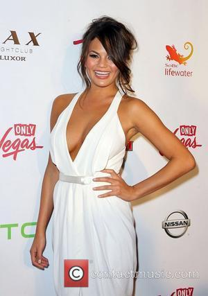 Chrissy Teigen Sports Illustrated Swimsuit Models on Location hosted by LAX Nightclub at Luxor Hotel and Casino Vegas Las Vegas,...