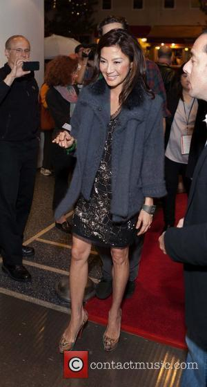Michelle Yeoh attends Spotlight on Michelle Yeoh/The Lady part of the Mill Valley Film Festival at the Christopher B. Smith...