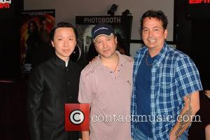 Chee Keong Cheung, Carlos Gallardo and Kevin Eastman  'Spy Kids 4D' afterparty held at ESPN Zone Los Angeles, California...