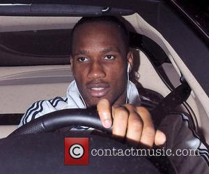 Chelsea FC player Didier Drogba leaving Stamford Bridge, having been part of the side that beat Manchester United 2-1. London,...