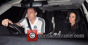 Chelsea FC player John Terry leaving Stamford Bridge with his wife Toni Terry, having been part of the side that...