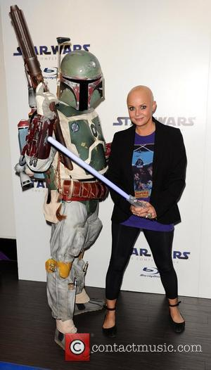 Gail Porter Star Wars Blu-Ray - launch party at BT Tower London, England - 15.09.11