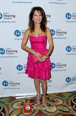 Susan Lucci Primetime and daytime stars join The Starkey Hearing Foundation in Las Vegas to deliver the 'GIFT OF HEARING'...