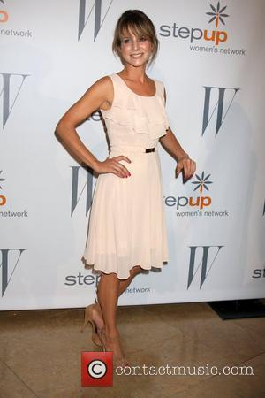 Jessalyn Gilsig and Beverly Hilton Hotel