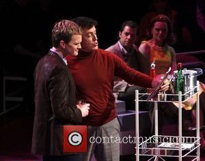 Neil Patrick Harris and Stephen Colbert