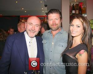 Mark Powell, Jessica Jane Clement (the Hustle) and guest celebrities attend the 52nd birthday party at Mare Moto on Kings...