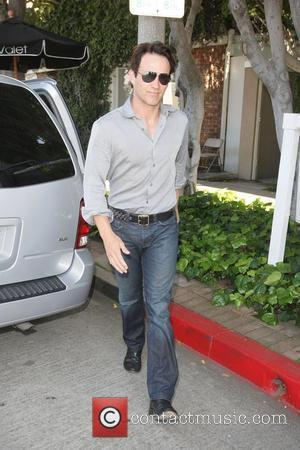 Steven Moyer leaves the Kate Somerville spa in West Hollywood following his wife Anna Paquin visit to the same spa...