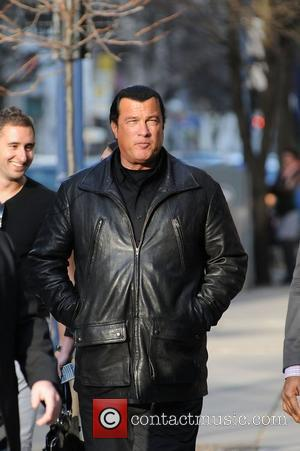 Steven Seagal out and about in Yorkville Toronto, Canada - 30.04.11