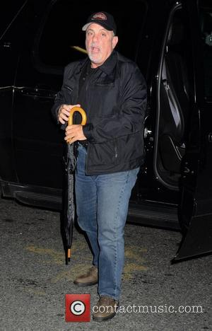 Billy Joel attending Stings Birthday Rainforest Gala New York City, USA -01.11.10