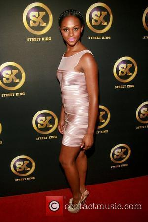 Tika Sumpter 50 Cent celebrates the launch of 'Street King at Good Units' at Hudson - Arrivals New York City,...