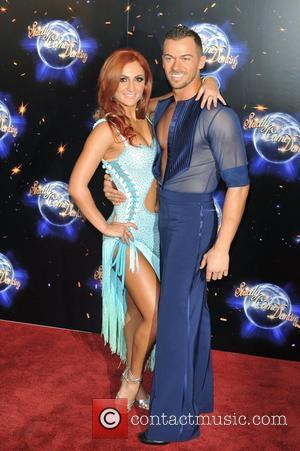 Aliona Vilani and Artem Chigvintsev Strictly Come Dancing launching event held at the BBC Studios. London, England - 07.09.11