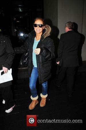 Patsy Kensit arrives in Liverpool ahead of the Strictly Come Dancing tour at Liverpool Echo Arena Liverpool, England - 25.01.11