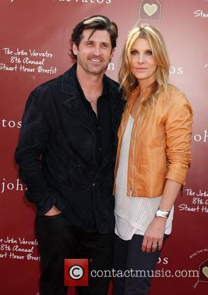 Patrick Dempsey and Jillian Dempsey 8th annual John Varvatos Stuart House benefit at John Varvatos Los Angeles  Los Angeles,...