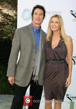 Ronn Moss and Katherine Kelly Lang