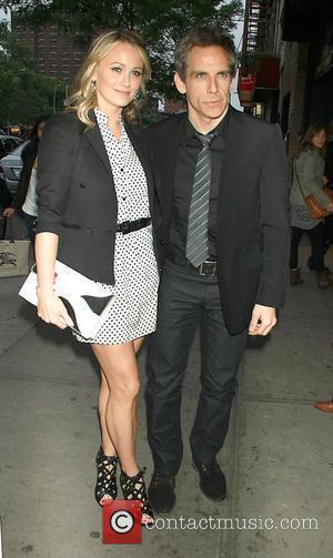 Christine Taylor, Ben Stiller at The Weinstein Company with The Cinema Society & Altoids screening of 'Submarine' at Landmark's Sunshine...