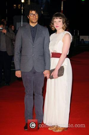 Richard Ayoade and Lydia Fox UK Film Premiere of 'Submarine' at BFI Southbank. London, England - 15.03.11