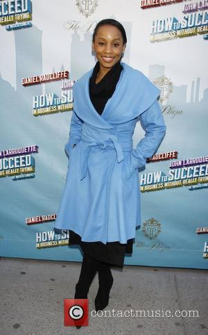Anika Noni Rose Opening Night of the Broadway musical production of 'How To Succeed In Business Without Really Trying' at...