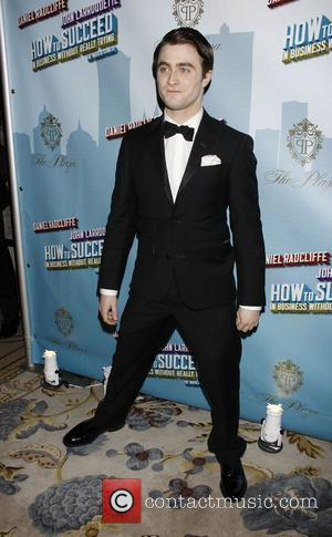 Daniel Radcliffe Opening Night after party for the Broadway musical production of 'How To Succeed In Business Without Really Trying'...