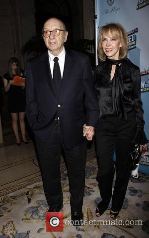 Neil Simon and Elaine Joyce-Simon Opening Night after party for the Broadway musical production of 'How To Succeed In Business...