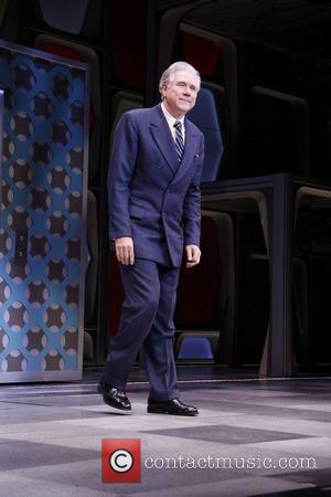 John Larroquette Opening Night of the Broadway musical production of 'How To Succeed In Business Without Really Trying' at the...