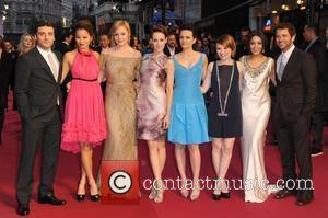 Oscar Isaac, Abbie Cornish, Carla Gugino, Emily Browning, Jamie Chung, Jena Malone, Vanessa Hudgens and Zack Snyder