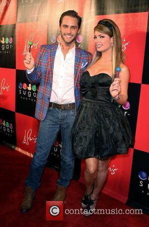 Josh Strickland and Laura Croft Grand Opening of The Sugar Factory American Brasserie at Paris Hotel and Casino  Las...