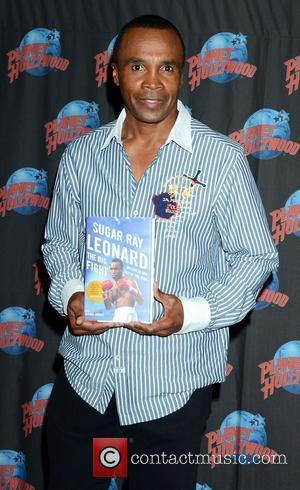 Sugar Ray Leonard, The Ring, Planet Hollywood and Times Square