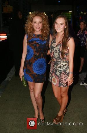 Virginia Madsen and Madeline Carroll